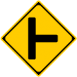 (201-B)├形(または┤形)道路交差点あり