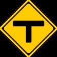 (201-C)T形道路交差点あり