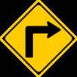 (203)右(または左)方屈折あり