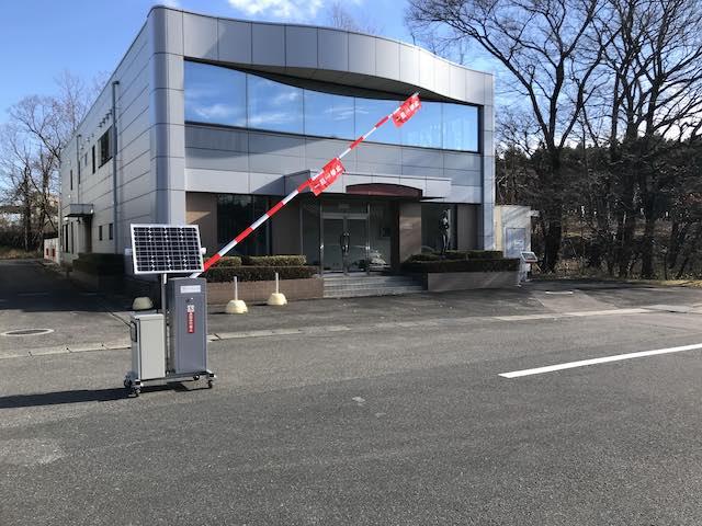 自動運転車両運行システムと連携、自動開閉する「ICT ゲート」を開発