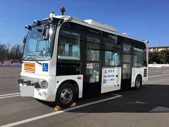 群馬大学荒巻~渋川駅間の自動運転バスの実証実験への技術協力_アークノハラ6