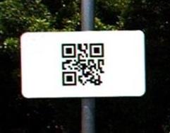 アークノハラのQRコード標識