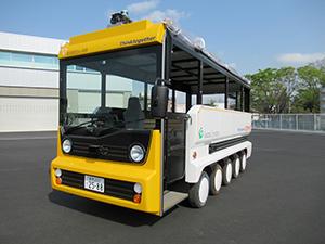 観光目的に特化した「自動運転車試乗体験」を三宅島で実施します。