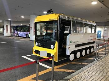 池袋における自動運転バスの実証実験への技術協力_アークノハラ3