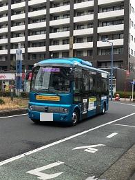 川口市における自動運転実証実験への技術協力_アークノハラ3