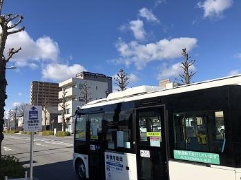 前橋駅周辺における自動運転公道実証実験への技術協力_アークノハラ3