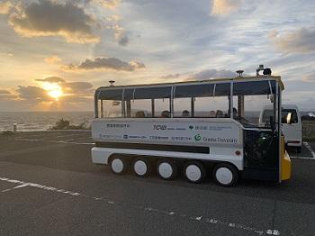 三宅島での自動運転のモニターツアー・実証実験_アークノハラ